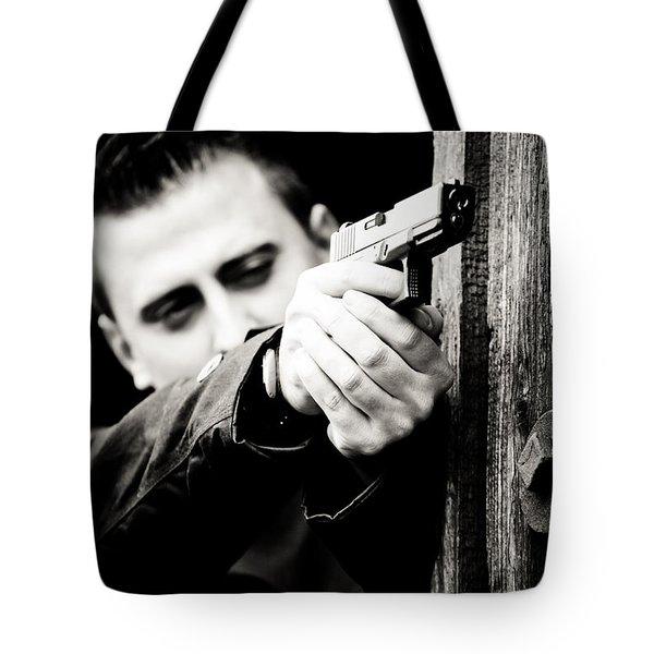 Aim Tote Bag by Gabriela Insuratelu
