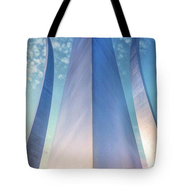 Air Force Memorial Tote Bag by JC Findley