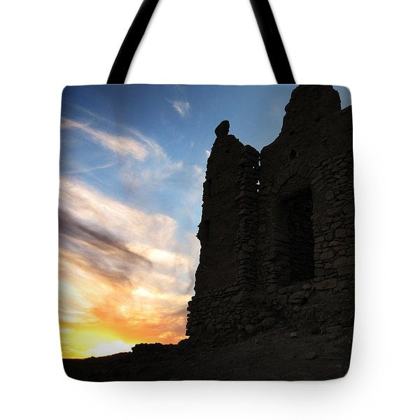 Ait Benhaddou Tote Bag by Oliver Johnston