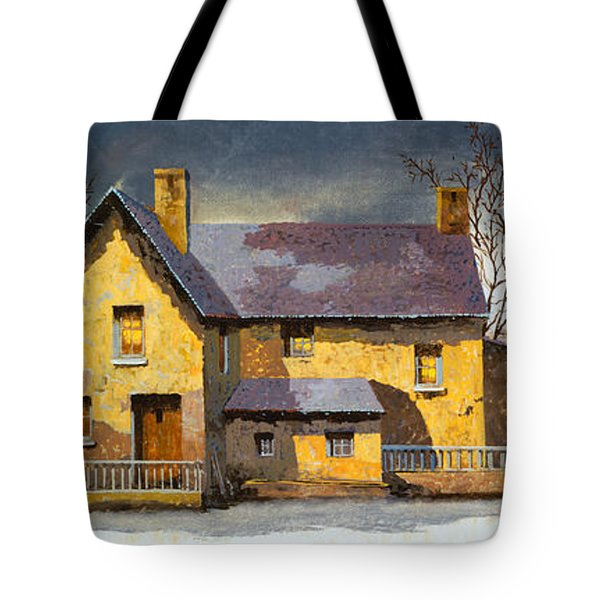 al mattino Tote Bag by Guido Borelli