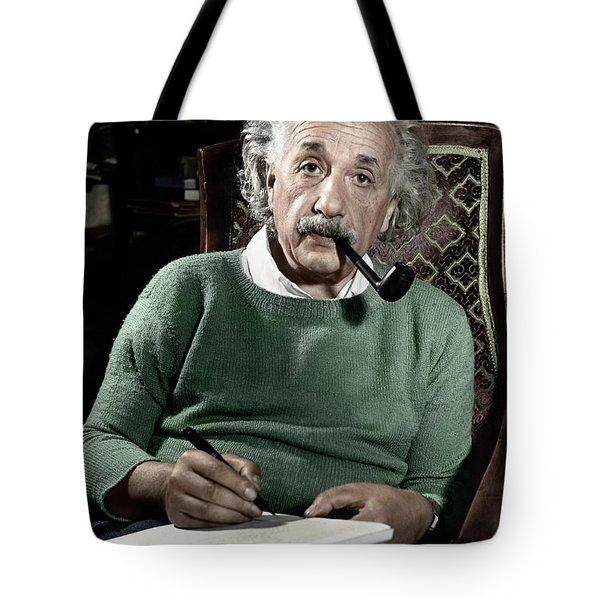 Albert Einstein Tote Bag by Granger