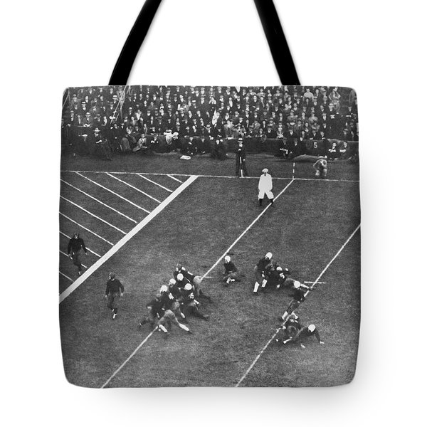 Albie Booth Kick Beats Harvard Tote Bag by Underwood Archives