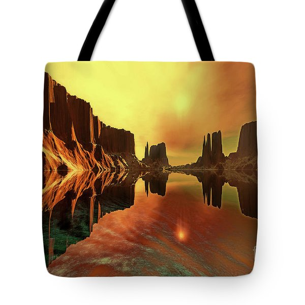 Alchemy Tote Bag by Corey Ford