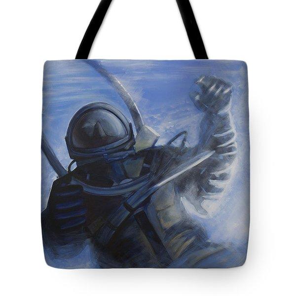 Alexei Leonov Tote Bag by Simon Kregar