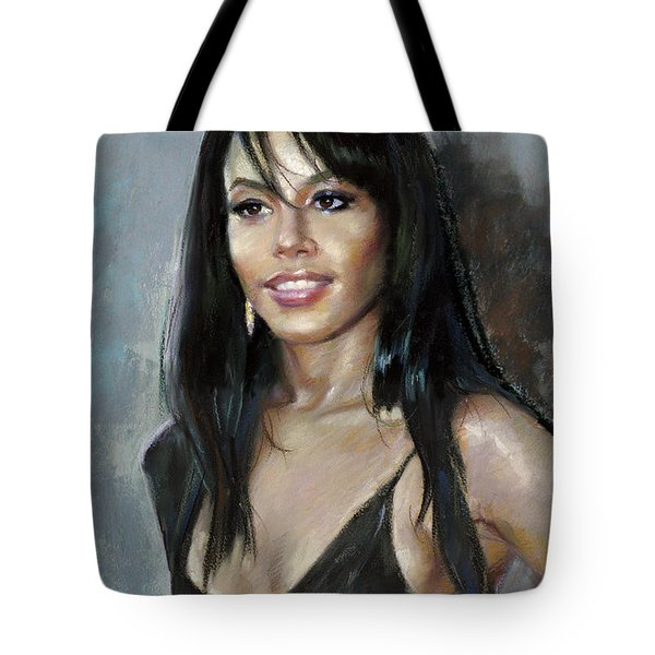 Aliya    Tote Bag by Ylli Haruni