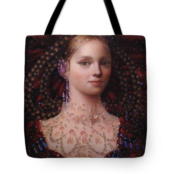 Alizarin Closeup Tote Bag by Loretta Fasan