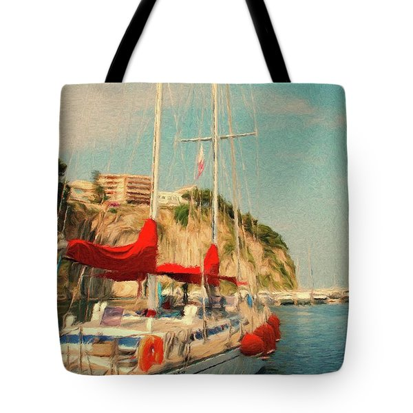 All Ashore Tote Bag by Jeff Kolker