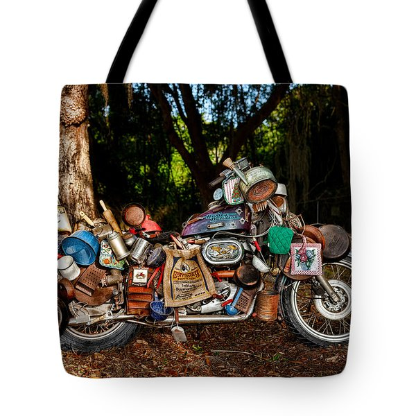 All But The Kitchen Sink Tote Bag by Christopher Holmes