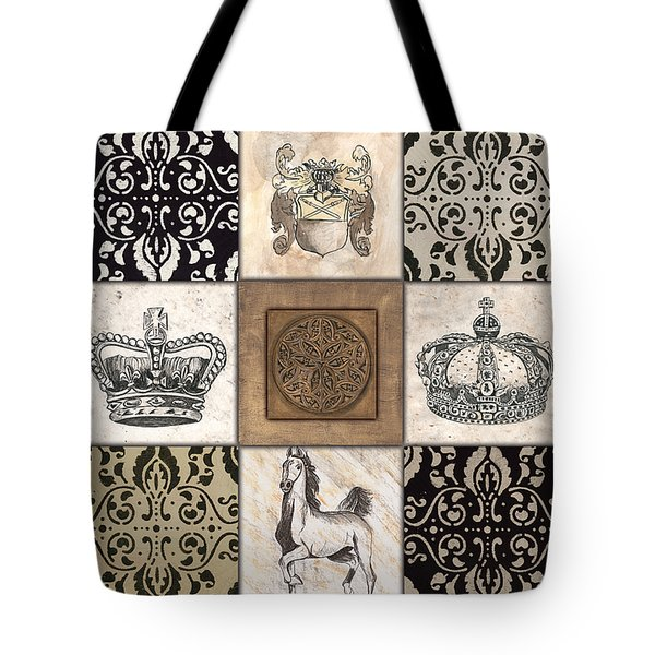 All Hail the Queen Tote Bag by Debbie DeWitt