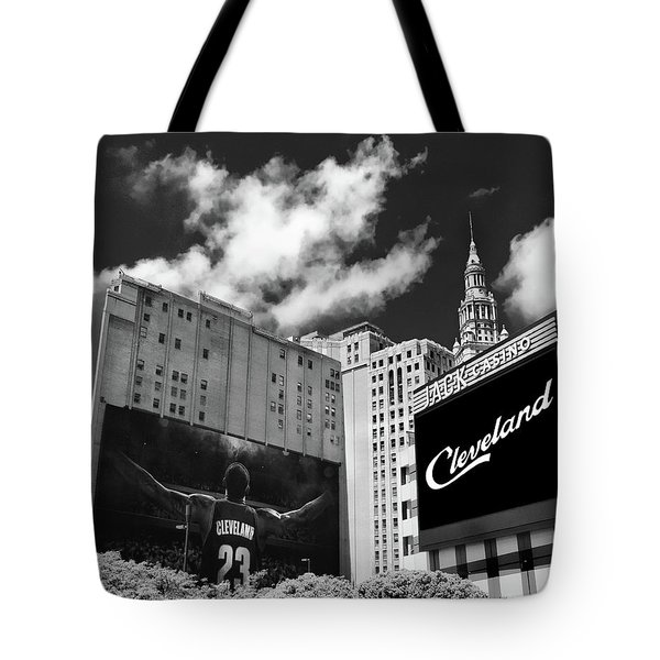 All In Cleveland Tote Bag by Kenneth Krolikowski