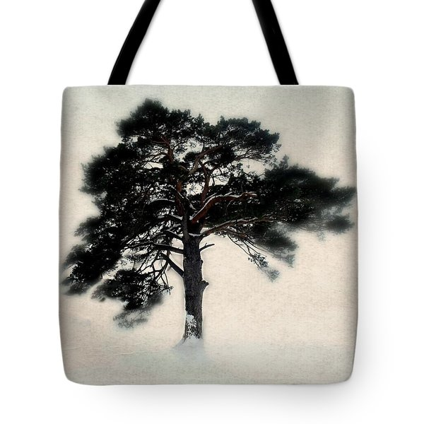 All in white Tote Bag by Julie Hamilton