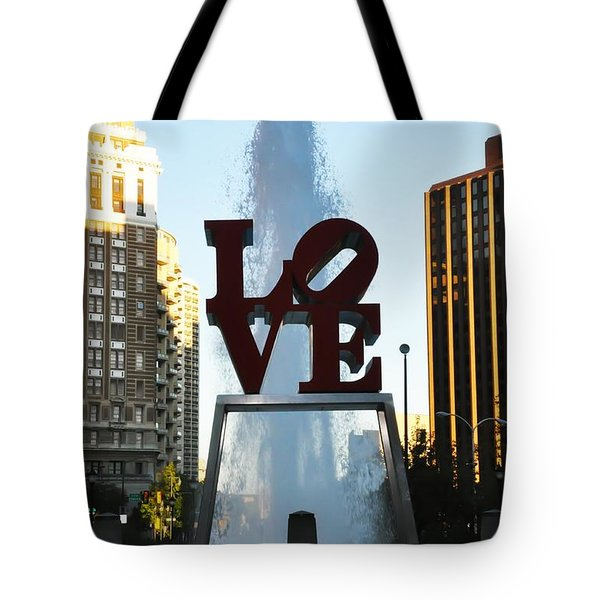 All You Need Is Love Tote Bag by Bill Cannon