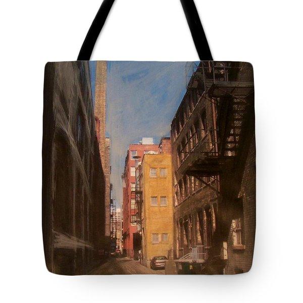 Alley Series 2 Tote Bag by Anita Burgermeister
