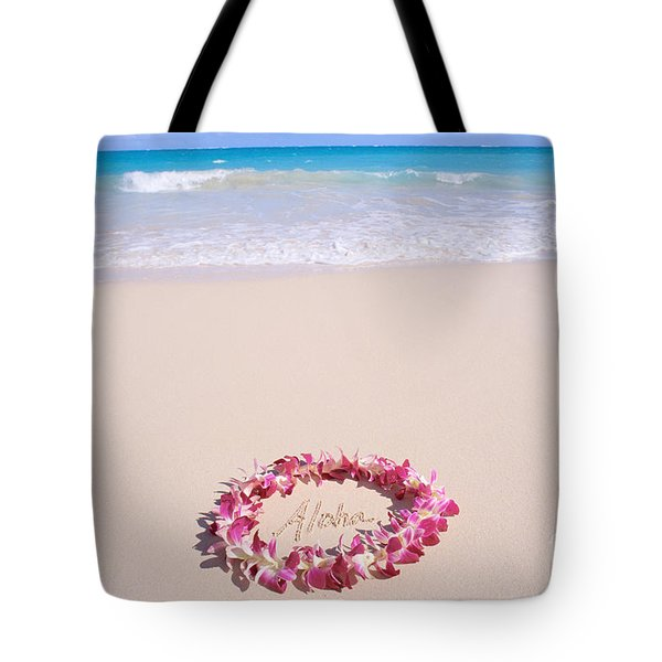 Aloha Tote Bag by Mary Van de Ven - Printscapes