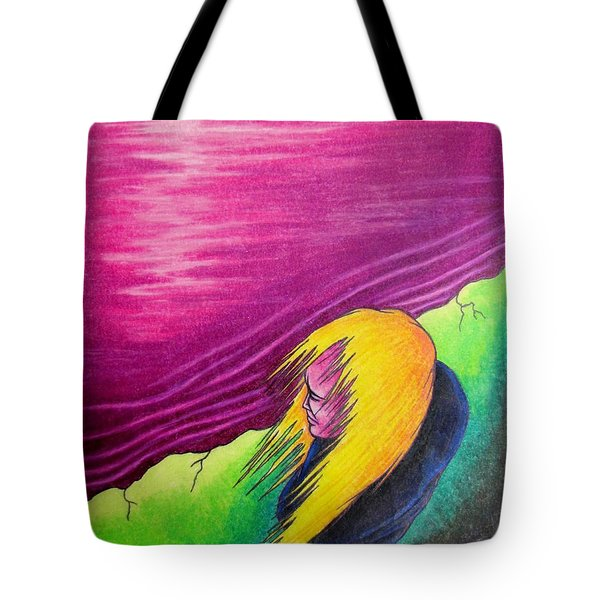 Alone Tote Bag by Michael  TMAD Finney