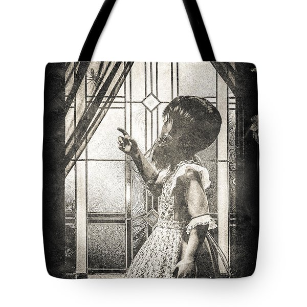 Along Came A Spider Tote Bag by Bob Orsillo