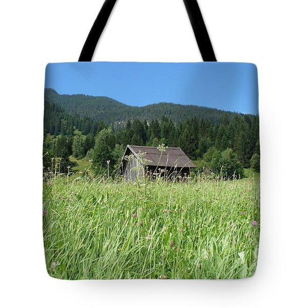 Alpine Meadow Tote Bag by Carol Groenen