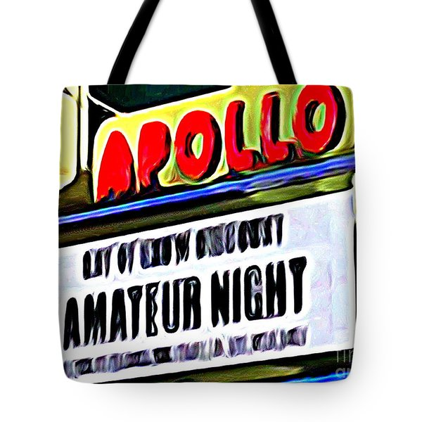 Amateur Night Tote Bag by Ed Weidman