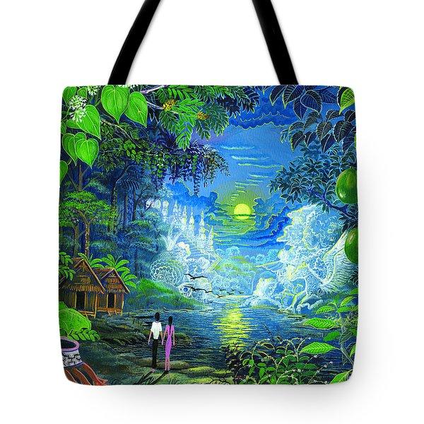 Amazonica Romantica Tote Bag by Pablo Amaringo