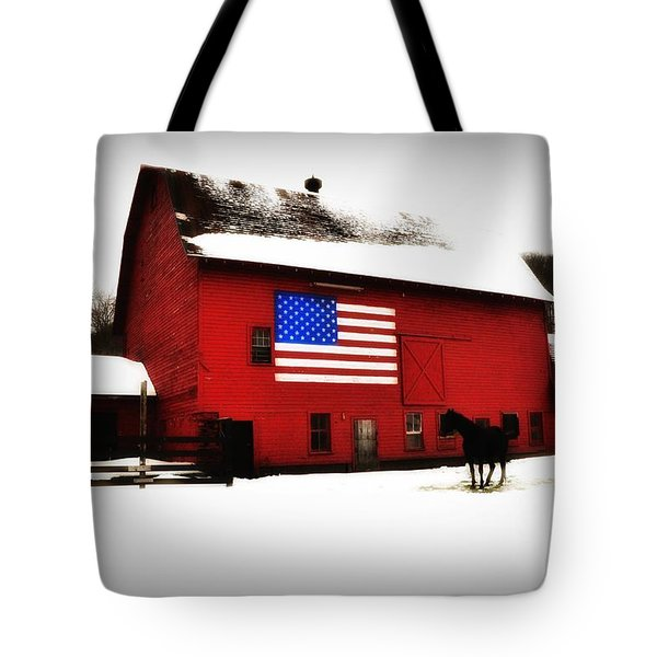 American Barn Tote Bag by Bill Cannon