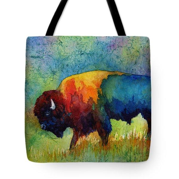 American Buffalo IIi Tote Bag by Hailey E Herrera