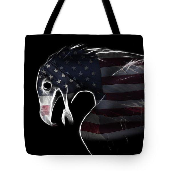 American Eagle Tote Bag by Melanie Viola