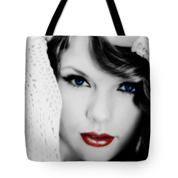 American Girl Taylor Swift Tote Bag by Brian Reaves