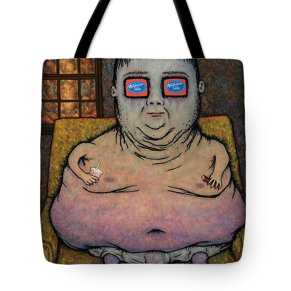 American Idle Tote Bag by James W Johnson
