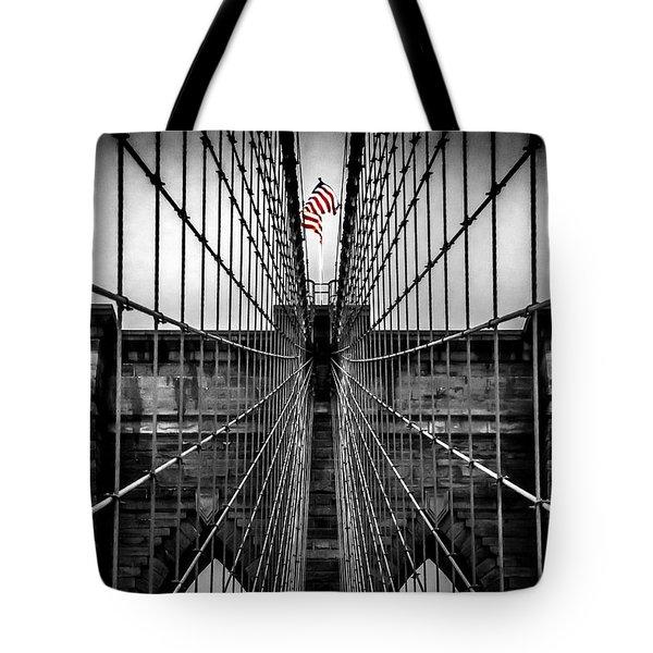 American Patriot Tote Bag by Az Jackson