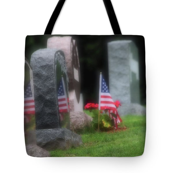 American Reflections Tote Bag by Karol Livote
