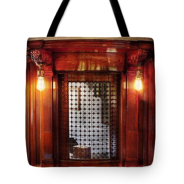 Americana - Movies - Ticket Counter Tote Bag by Mike Savad