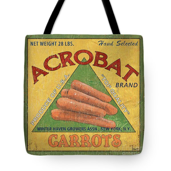 Americana Vegetables 2 Tote Bag by Debbie DeWitt
