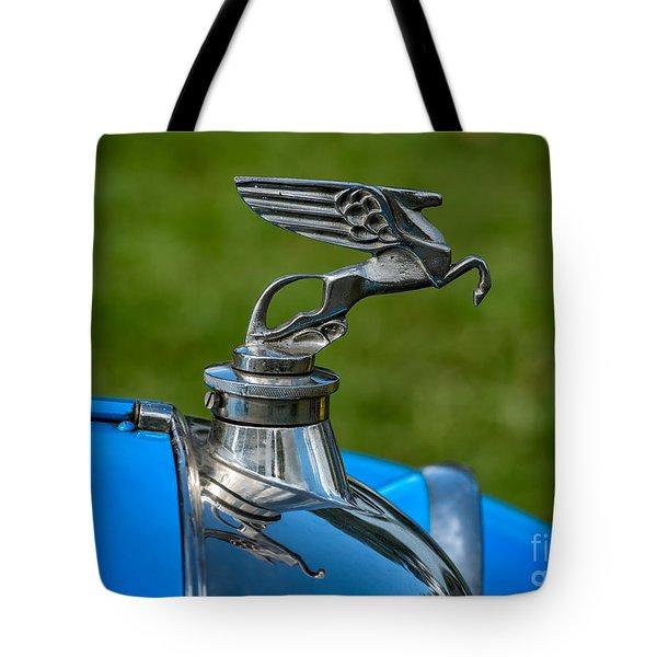 Amilcar Pegasus Emblem Tote Bag by Adrian Evans