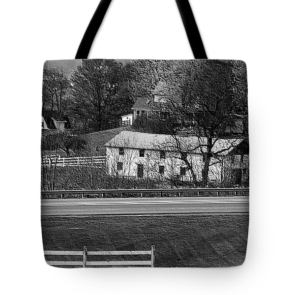 Amish Farm Tote Bag by Kathleen Struckle