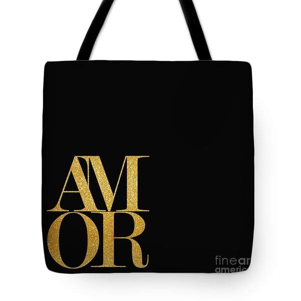 Amor Tote Bag by Liesl Marelli