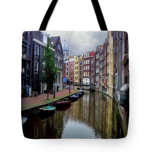 Amsterdam Tote Bag by Heather Applegate