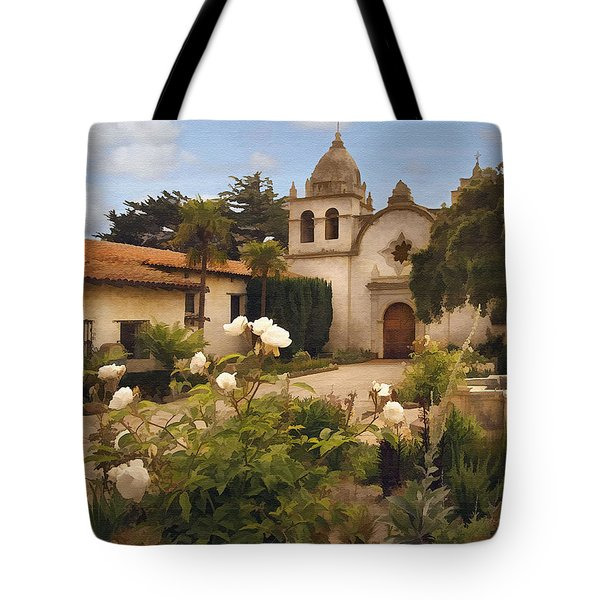 Amy's Carmel Tote Bag by Sharon Foster