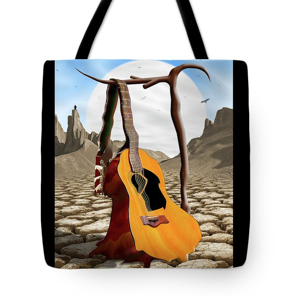 An Acoustic Nightmare Tote Bag by Mike McGlothlen