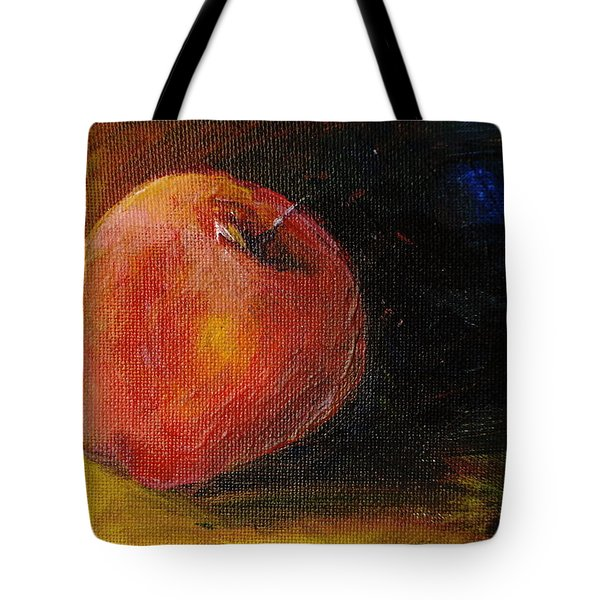 An Apple - A Solitude Tote Bag by Jun Jamosmos