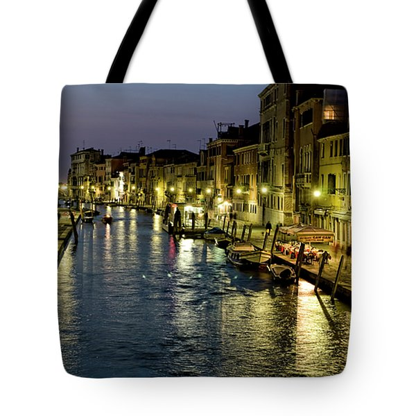 An Evening in Venice Tote Bag by Michelle Sheppard