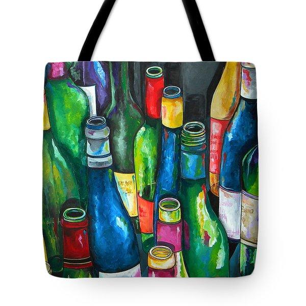 An Evening With Friends Tote Bag by Patti Schermerhorn