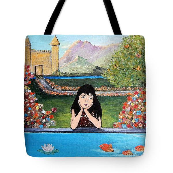 An Imaginative Mind Tote Bag by Reb Frost