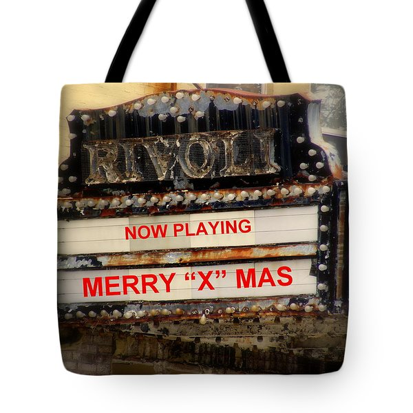 An X Rated Holiday Tote Bag by Ed Smith