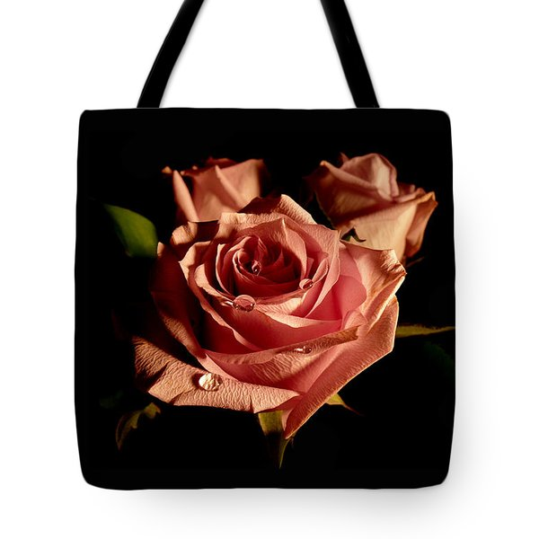 Anastasia's Rose Tote Bag by Susan Duda