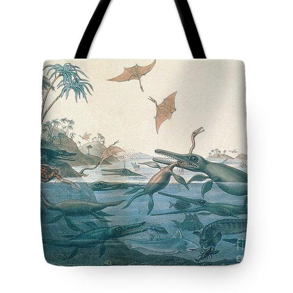 Ancient Dorset Tote Bag by Henry Thomas De La Beche