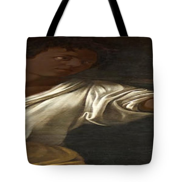 Ancient Human Instinct Tote Bag by David Bridburg