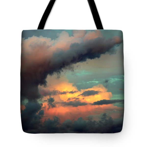 AND the THUNDER ROLLS Tote Bag by KAREN WILES