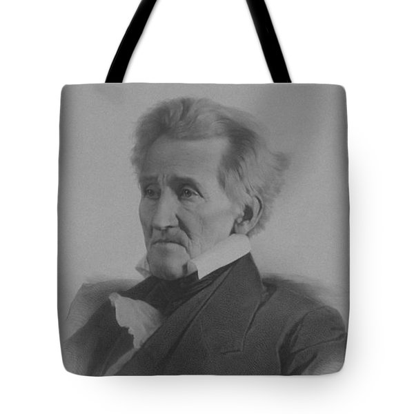 Andrew Jackson Tote Bag by War Is Hell Store