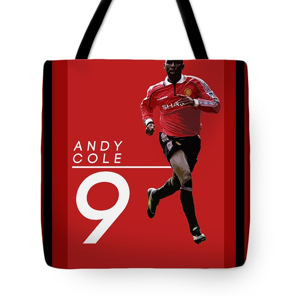 Andy Cole Tote Bag by Semih Yurdabak