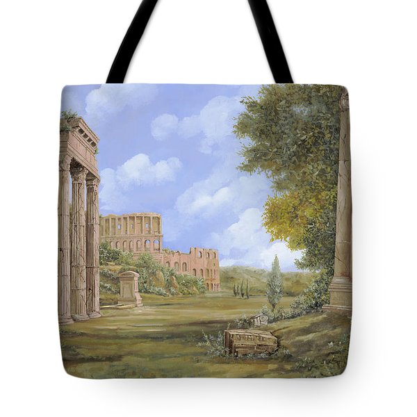 anfiteatro romano Tote Bag by Guido Borelli